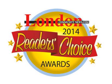London 2014 Reader's Choice Award
