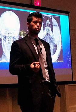 Dr. Berner speaking