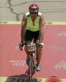 Dr. Eggleston bike riding