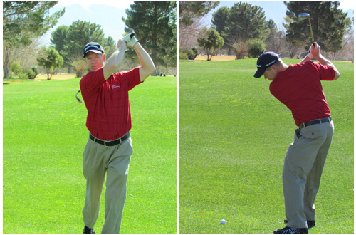 Sahuarita Chiropractor, Dr. Miles Romney golfing