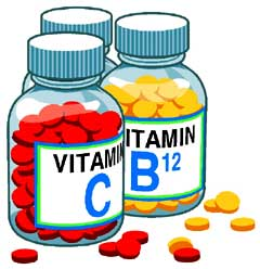 Vitamins, supplements and minerals can be used to fill the holes in our diets.