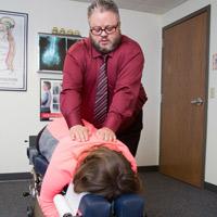 Heinen Chiropractic, S.C. Chiropractor, Heinen's diversified adjustment