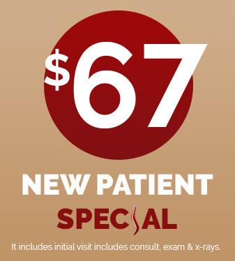$67 New Patient Special - Click Here To Book Online