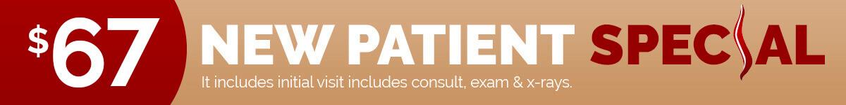 $67 Chiropractic New Patient Special - Click Here To Book Online