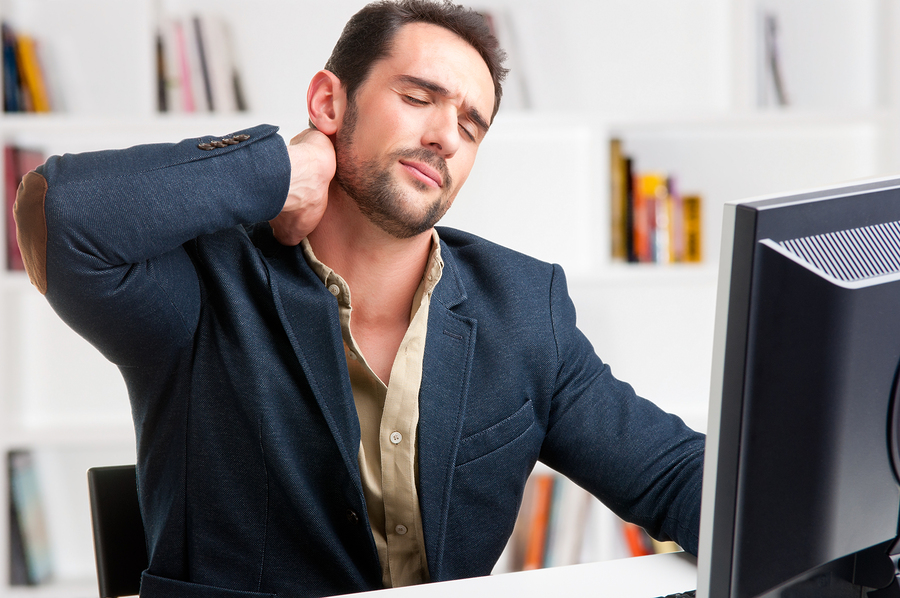 jobs that trigger neck pain