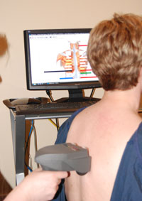A Patient Being Scanned