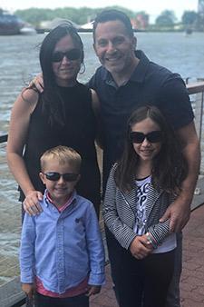 Dr Friedman family photo