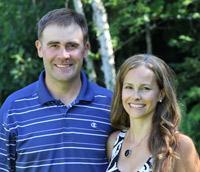 {PJ} Chiropractor, Dr. Brad Jones and his wife Laina