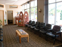You will always feel welcome in our waiting area.