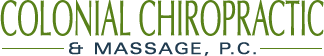 Colonial Chiropractic & Massage logo - Home