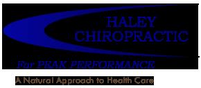 Haley Chiropractic logo - Home