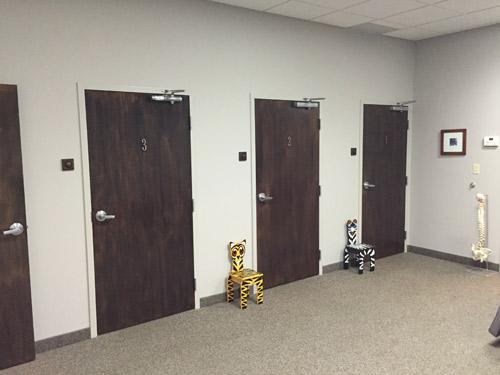 {PRACTICE NAME} Room Doors