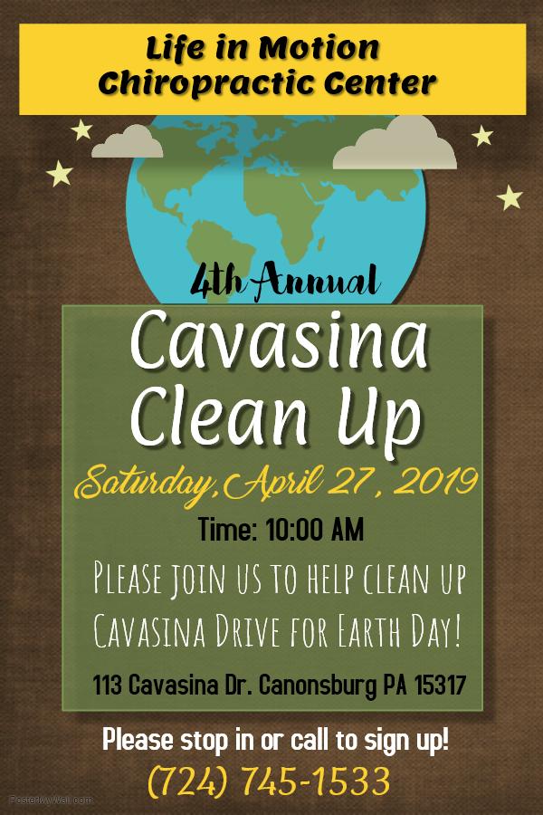 cavasina clean up