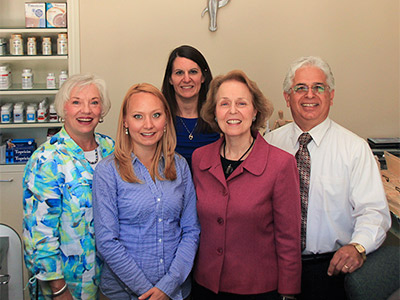 The Auerbach Family Chiropractic Center Staff welcomes you!