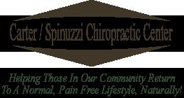Carter/Spinuzzi Chiropractic logo - Home