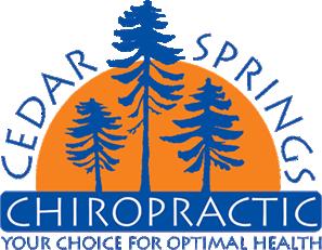 Cedar Springs Chiropractic logo - Home