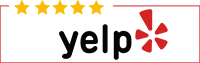 Yelp review banner