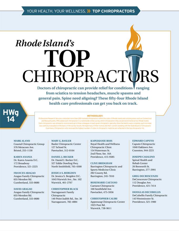 RI Top Chiropractors page 1