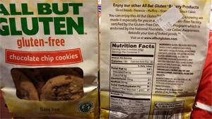 gluten free food labels