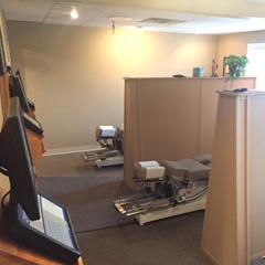 Parent Chiropractic Center treatment rooms