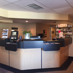 Front Desk at Parent Chiropractic Center