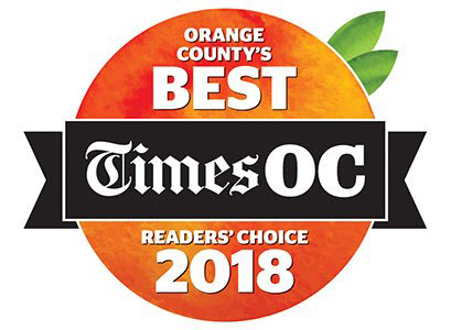 Voted Best Chiropractor In Orange County 2018 By The LA Times