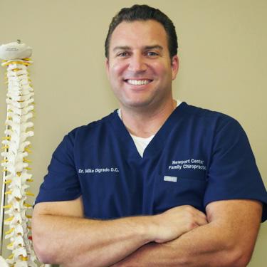 Chiropractor Newport Beach, Dr. Mike Digrado