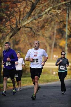 Dr. Luper running