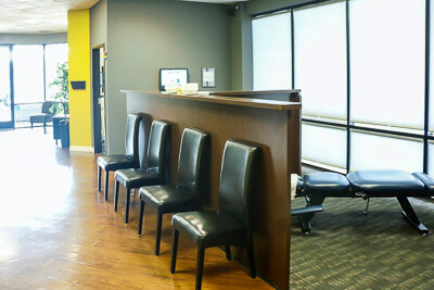 Twins Chiropractic and Physical Medicine  waiting room