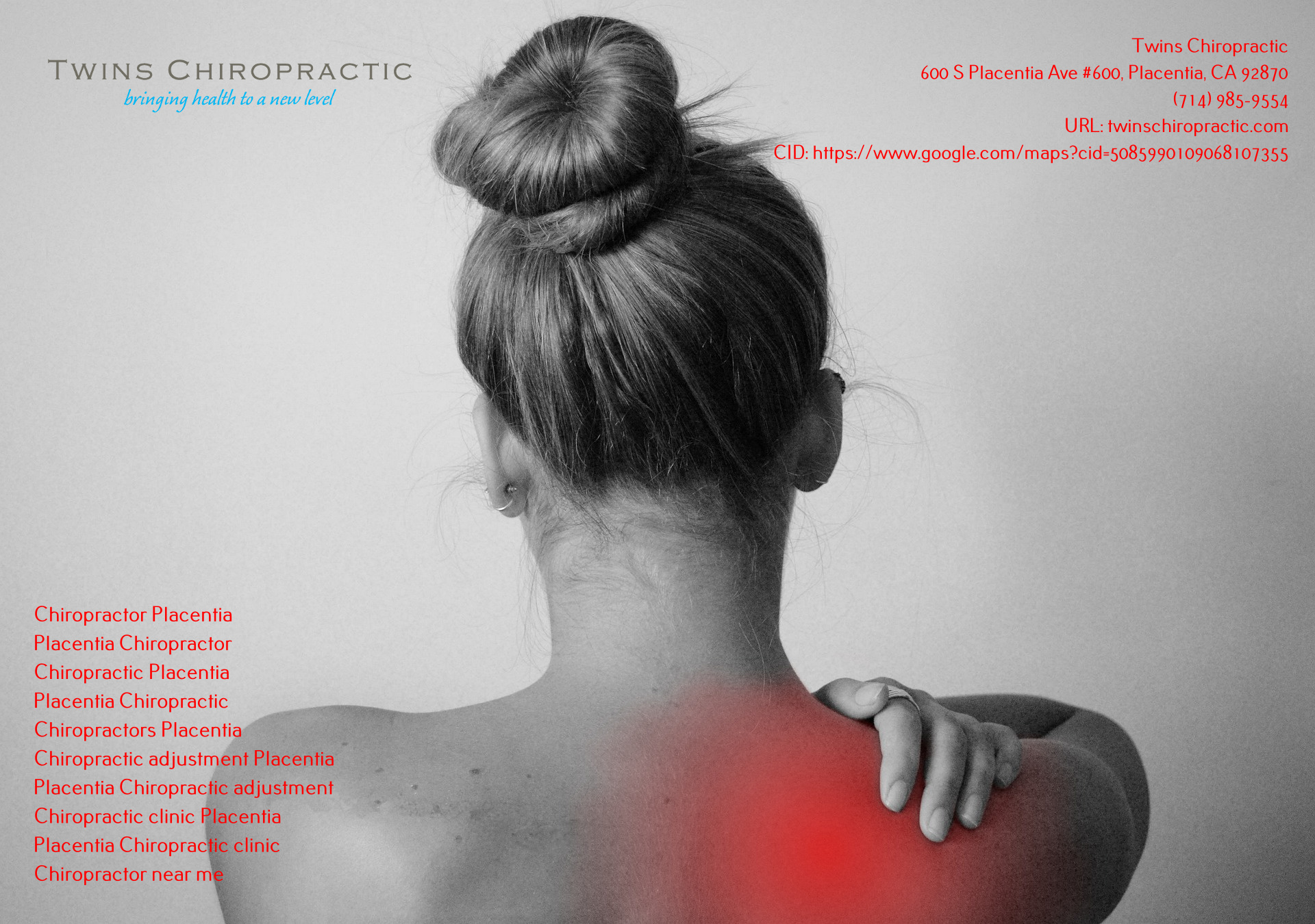 Twins Chiropractic (Placentia) - 1