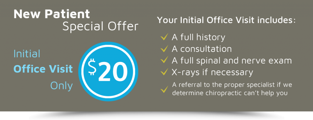 New Patients Special Offer graphic