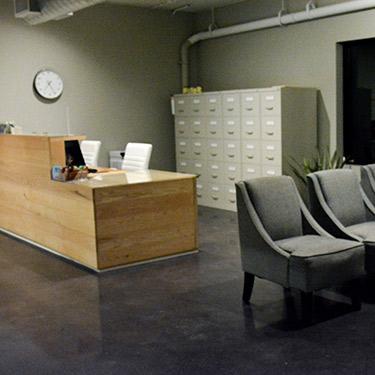 Health & Wellness Center Edina reception
