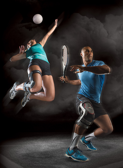 volleyball and tennis