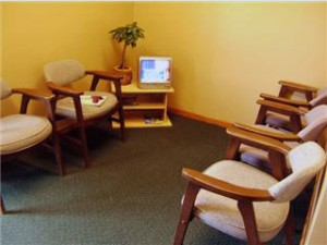 Our Goodhue chiropractic office is comfortable.