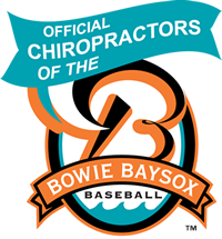Official Bowie Baysox Chiropractors