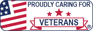 Proudly Caring for Veterans Web Badge 300x100