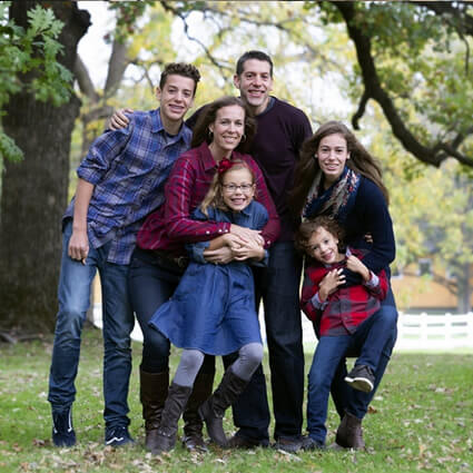Dr. Myers family