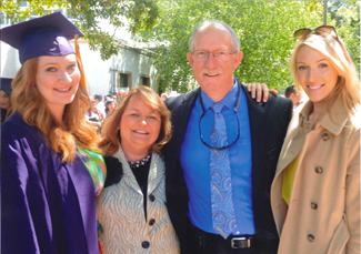 San Jose Chiropractor Dr. Cindy Guillett and her family