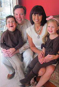 Dr. James Campbell and his family