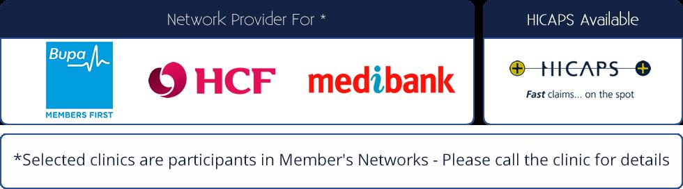 Bupa Medibank HCF