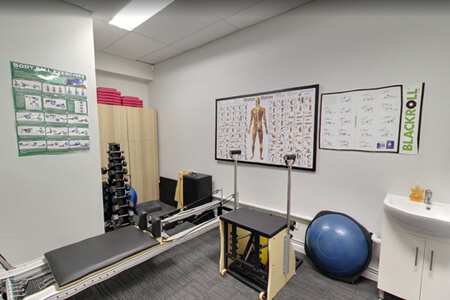 Health Assessment room at Perth Sports Injury Clinic
