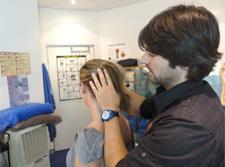 Chiropractic neck strength test