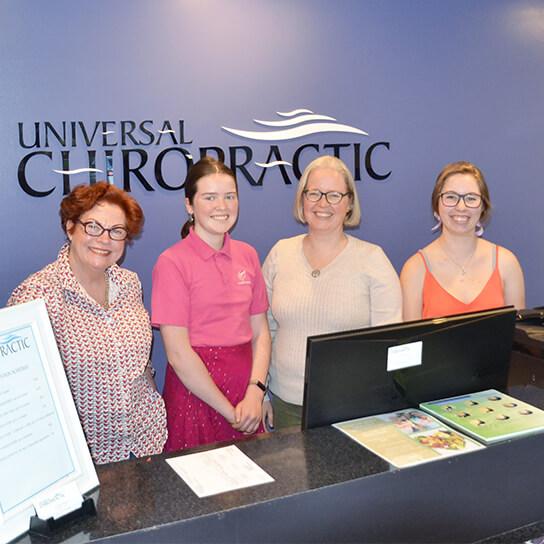 Universal Chiropractic team photo