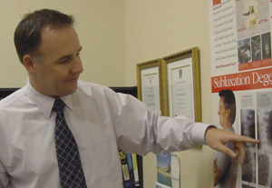 Rivervale Chiropractor, Simon Parker will take his time and explain everything that he found.