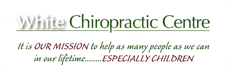 White Chiropractic Centre logo - Home
