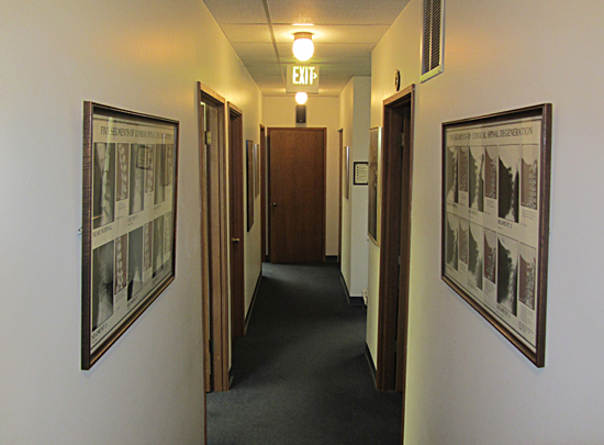 Entering the treatment area