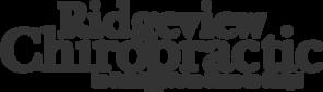 Ridgeview Chiropractic logo - Home