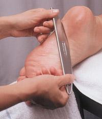 Graston Chiropractic Technique on Foot