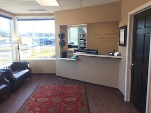 Lubovich Chiropractic Reception Area