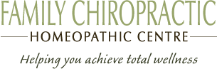 Family Chiropractic and Homeopathic Centre logo - Home